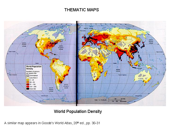 Untitled document population density and distribution note the use of color andor shading to represent difference sciox Images